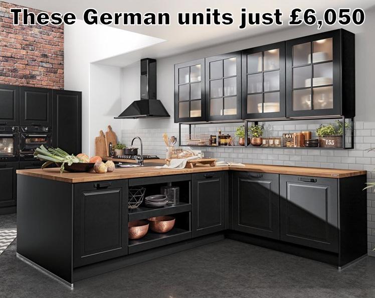 German Kitchen 1660