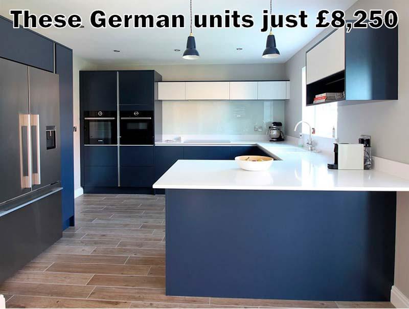 German Kitchen 4776