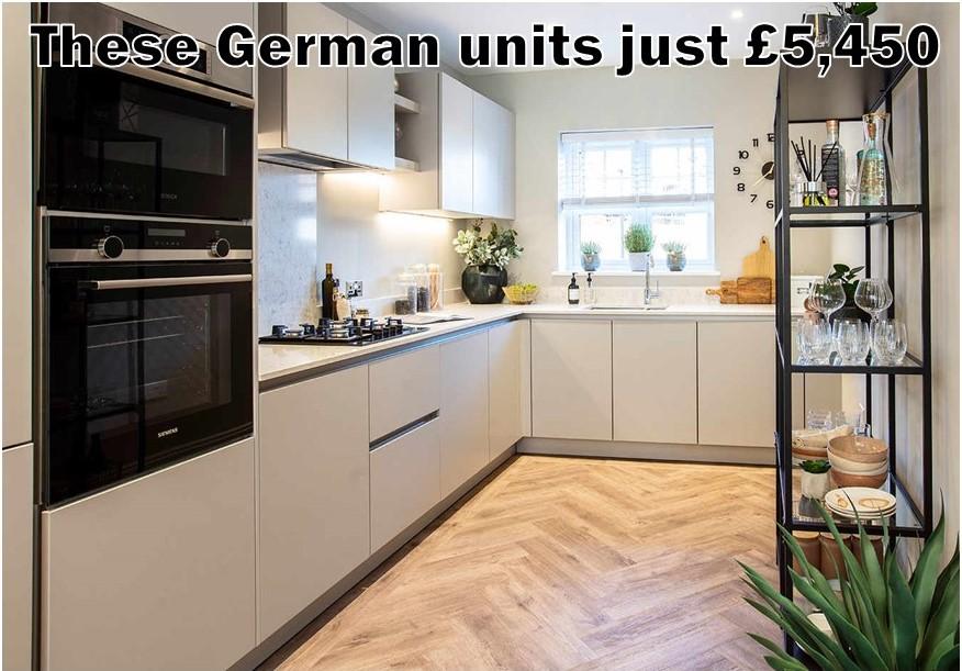 German Kitchen 5474