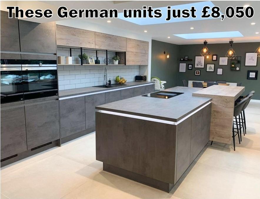 German Kitchen 5549