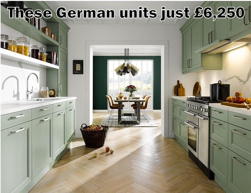 German Kitchen 5587