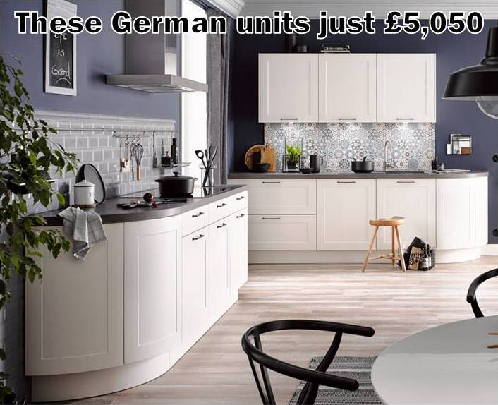 German kitchen 1350
