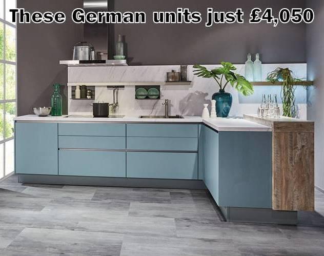German kitchen 1416