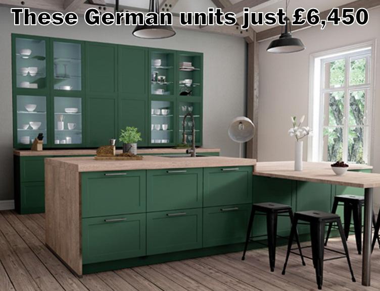 German kitchen 1881