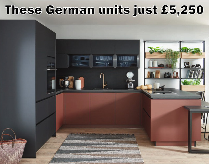 German kitchen 4024