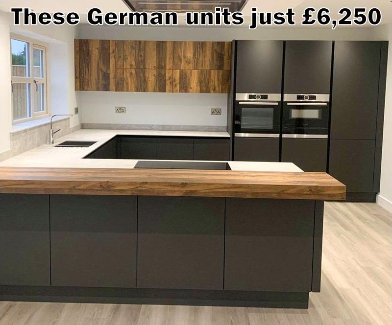 German kitchen 4039
