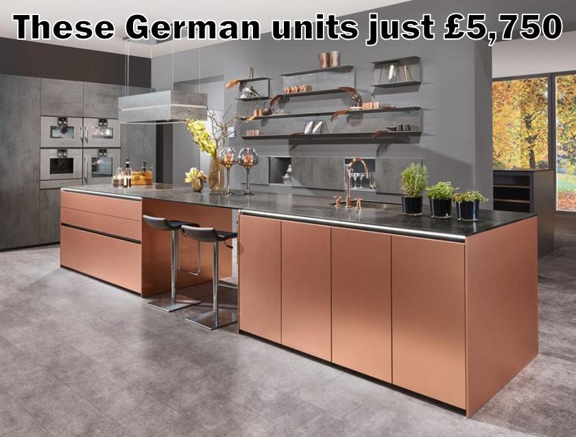 German kitchen 4047