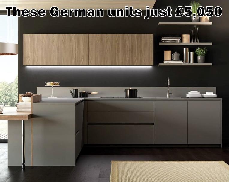 German kitchen 4092