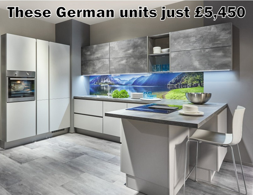 German kitchen 4143