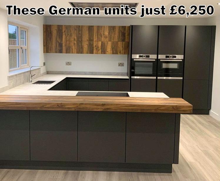 German kitchen 4355