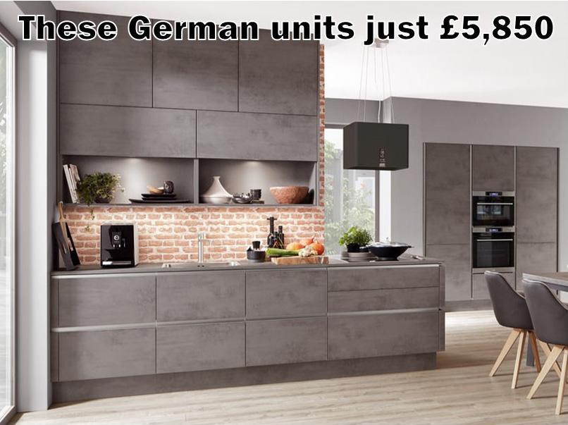 German kitchen 4454