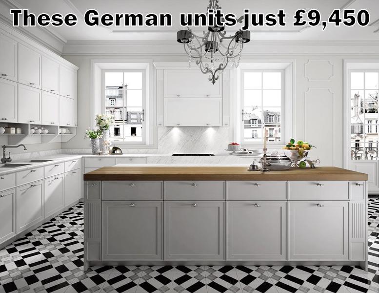 German kitchen 4495