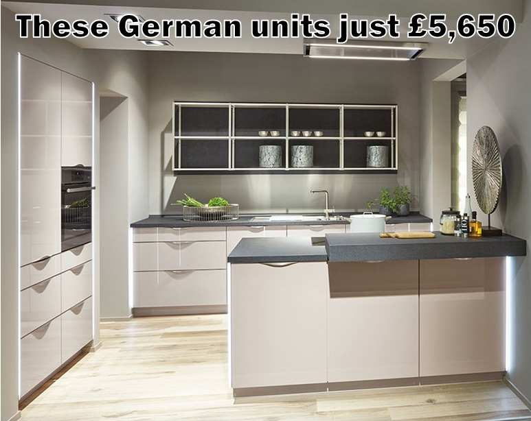 German kitchen 4568