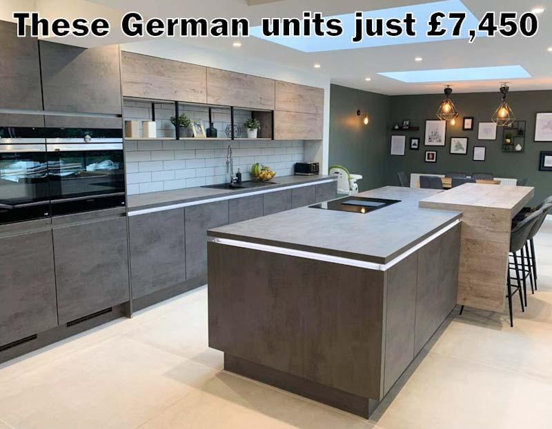 German kitchen 4704