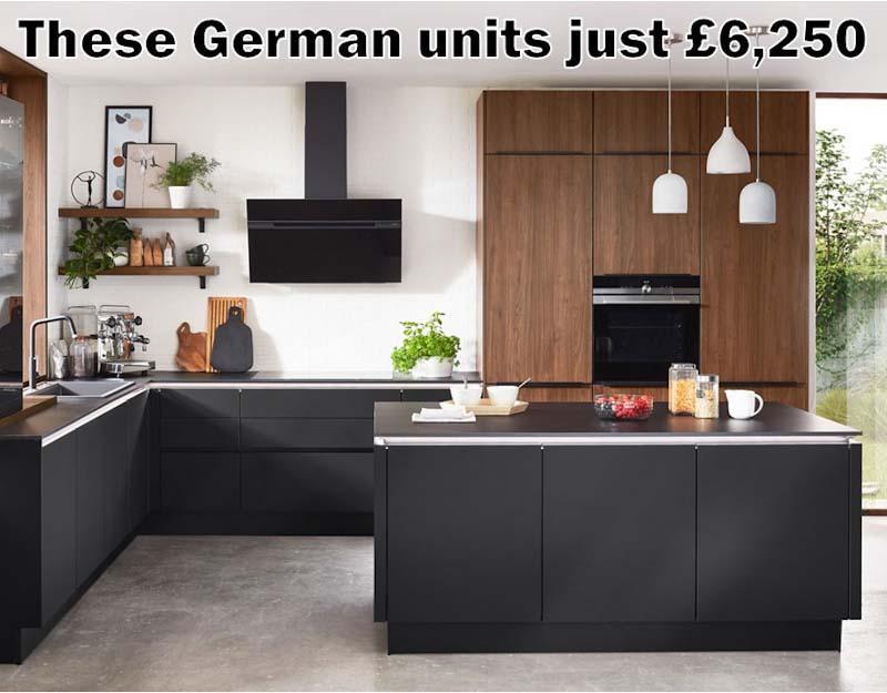 German kitchen 4707