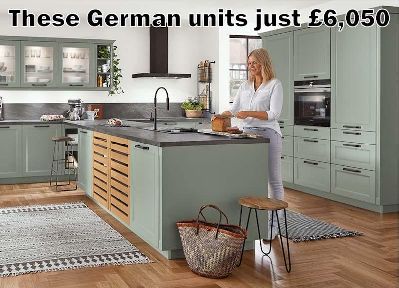 German kitchen 4732