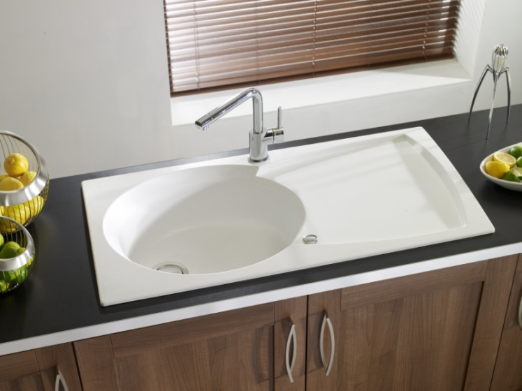 Granite Sink Astracast Ellipse White 1 5b Your Kitchen