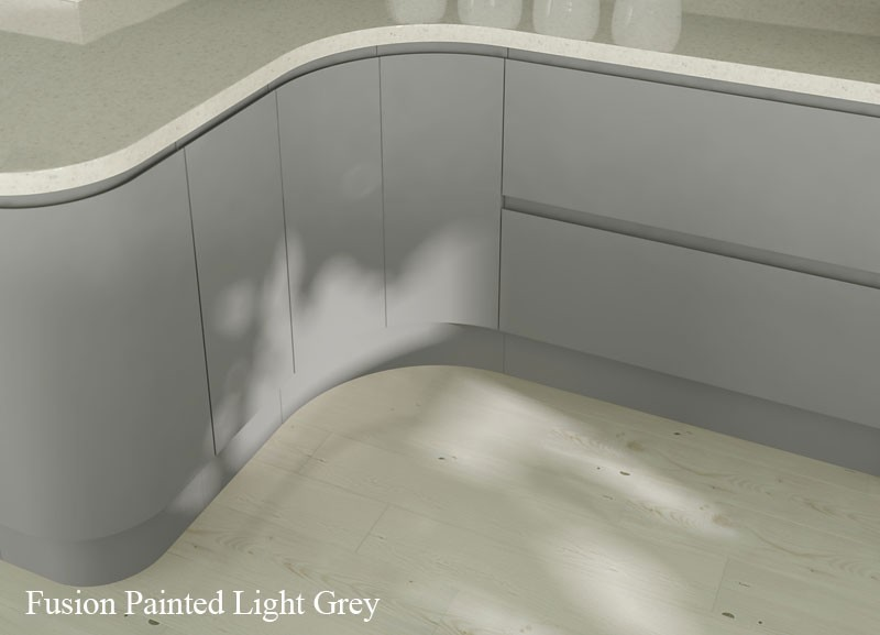 Are Grey Kitchens Becoming The New Cream - Pale grey gloss kitchen