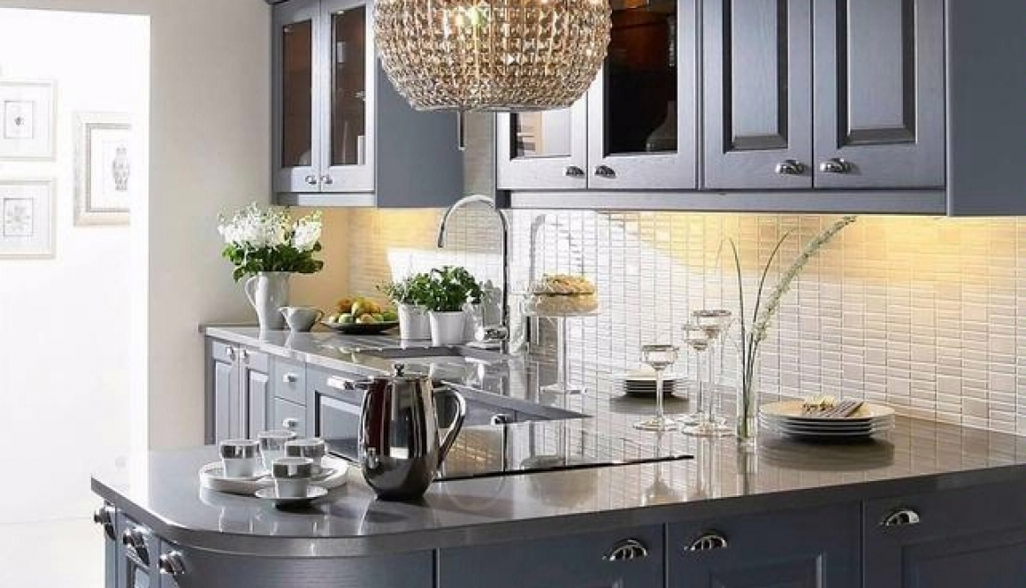 Grey Kitchens Painted Slate