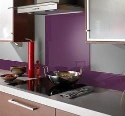 Kitchen money saving tips glass splash
