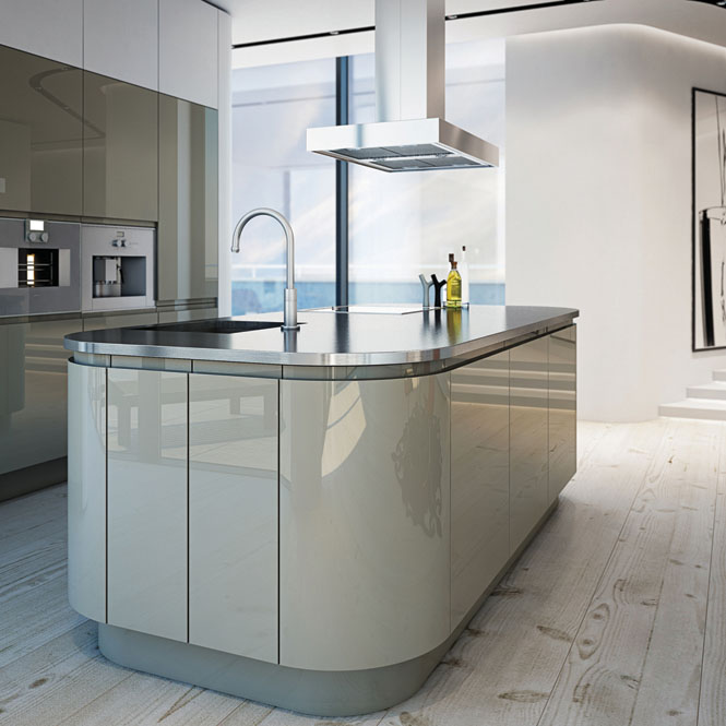 Wrens Kitchen Reviews Wren Kitchens Handleless Pebble