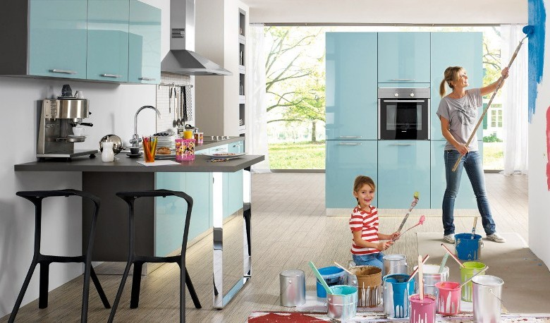 Lacquered gloss kitchen 10