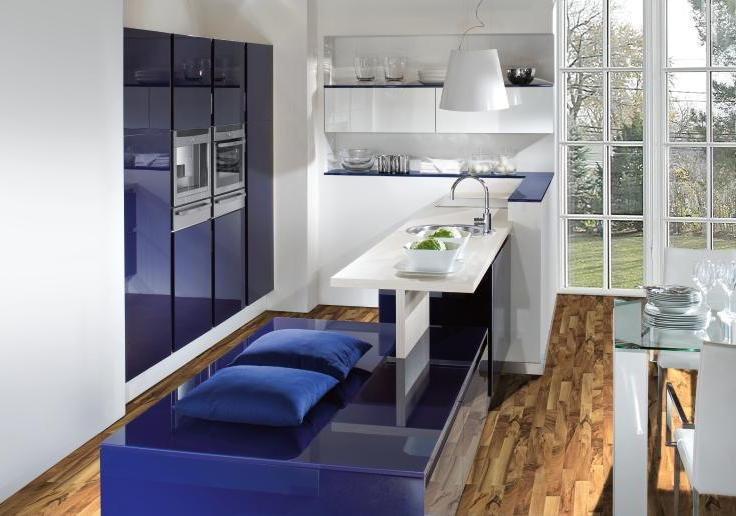 Lacquered gloss kitchen 11