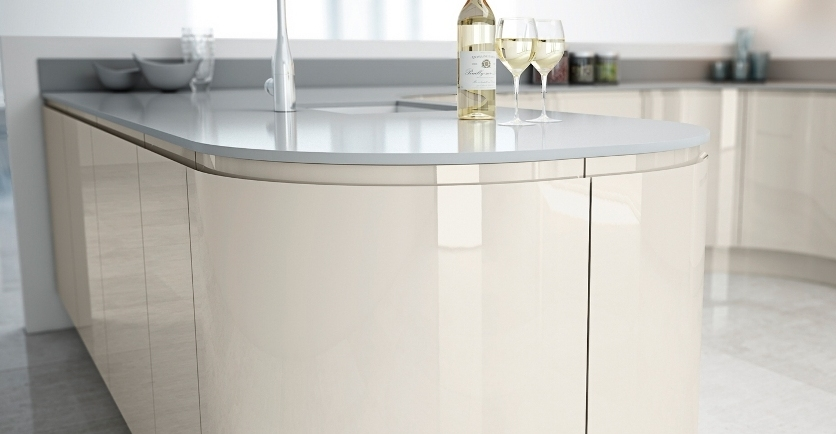 Lacquered gloss kitchen 14