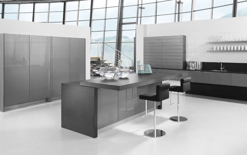Lava Grey Gloss Kitchen