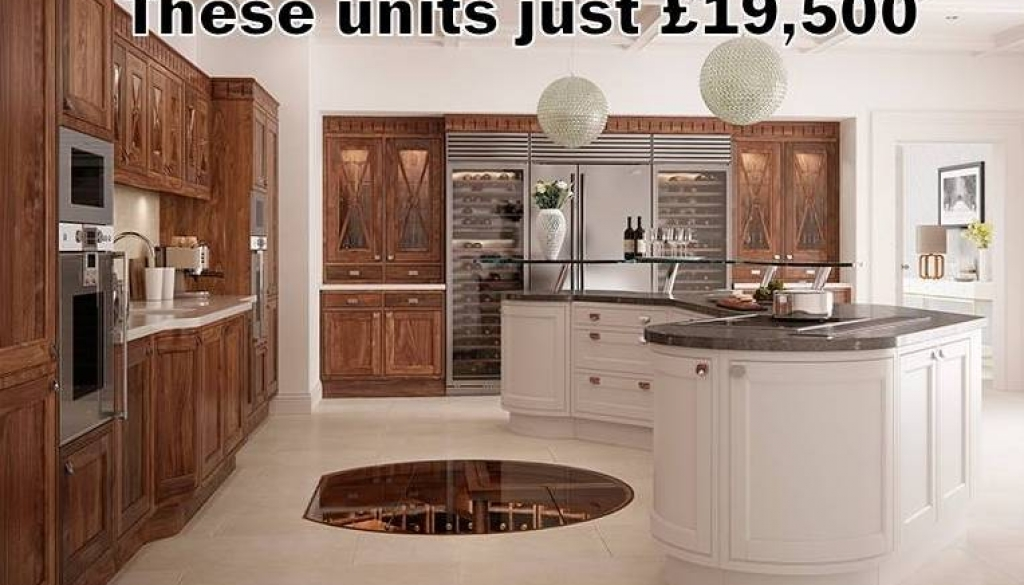 Luxury bespoke hand made kitchens for a fraction of the price