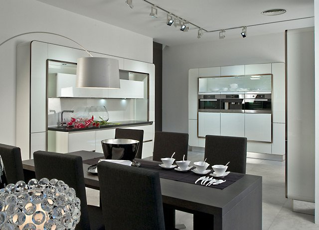 Luxury kitchens White