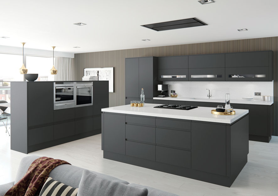 Are painted kitchens becoming more popular than gloss kitchens