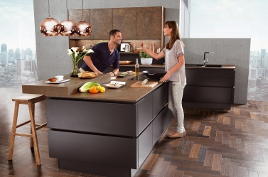 Matt Kitchen Bronze Black