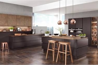 Matt Kitchen Bronze Black