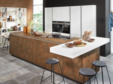 Matt Kitchen Bronze White