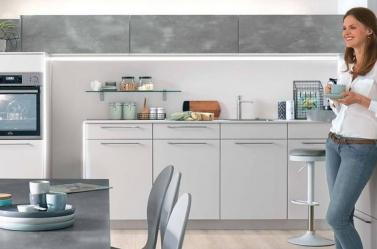Matt Kitchen Caledonia Light Grey