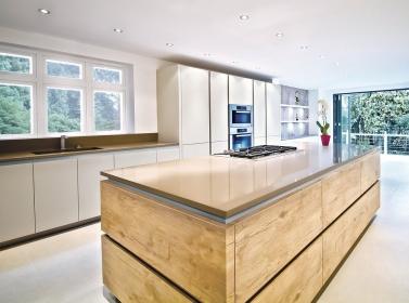 Matt Kitchen Cream Wood ROT