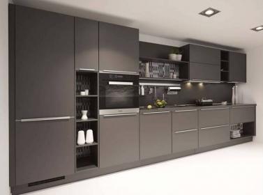 Matt Kitchen Dark Grey