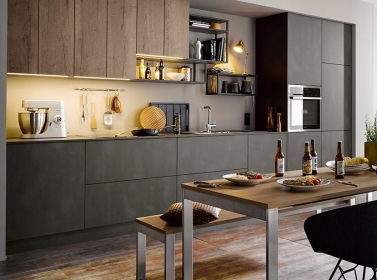 Matt Kitchen Dark Steel