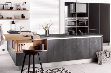 Matt Kitchen Graphite Concrete HAC