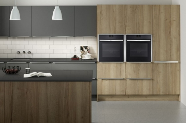 Matt Kitchen Graphite Wood PWS