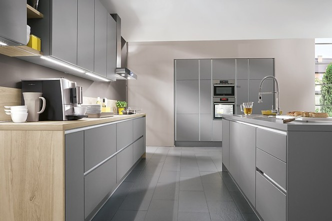 Are Matt Kitchens Becoming The New Gloss - Matte grey kitchen