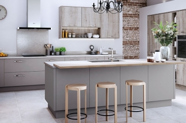 Matt Kitchen Grey Wood MAST