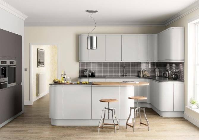 Matt Kitchen Light Grey
