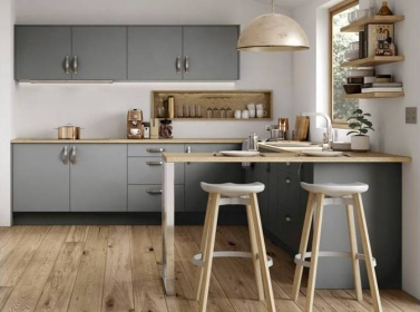 Matt Kitchen Mid Grey