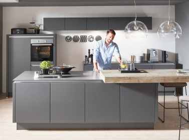 Matt Kitchen Mid Grey