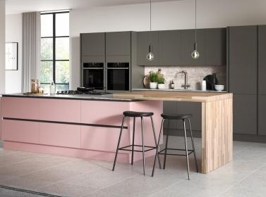 Matt Kitchen Pink