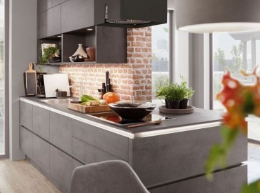 Matt Kitchen Slate Concrete
