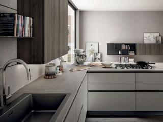Matt Kitchen Stone Grey