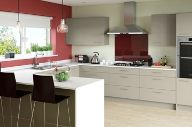Matt Kitchen Taupe